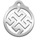 Амулет Славянский Боговник/Родовик, диаметр 27 мм