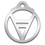Амулет Славянский Велес, диаметр 27 мм