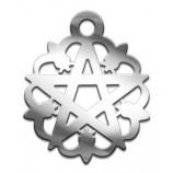 Амулет №02 Белая пентаграмма
