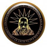 Талисман-наклейка объемная №10 Пентакль для удачи в делах