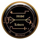 Талисман-наклейка объемная №24 для защиты от сглаза и порчи, 24 мм