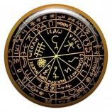 Талисман-наклейка объемная №47 Предсказатель