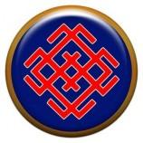 Талисман-наклейка  славянская объемная №64 Белбог