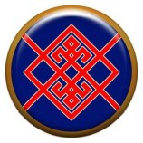 Талисман-наклейка  славянская объемная №65 Берегиня