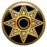 Талисман-наклейка объемная №75 Звезда Богини Любви Иштар