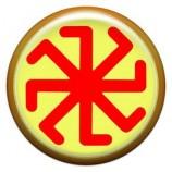 Талисман-наклейка  славянская объемная №80 Колядник