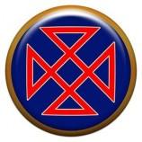 Талисман-наклейка  славянская объемная №92 Огуня