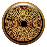 """Талисман-наклейка объемная """"Ловушка для дьявола"""", 24 мм"""